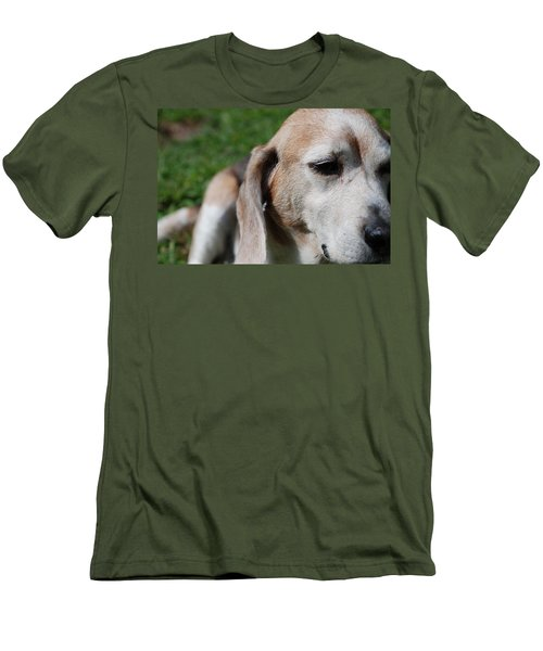 Men's T-Shirt (Slim Fit) featuring the photograph Old Is Beautiful by Jennifer Ancker
