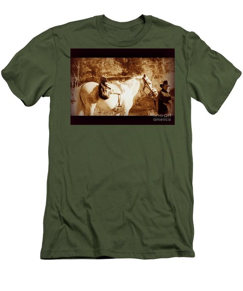 Men's T-Shirt (Slim Fit) featuring the photograph Old Spain by Clare Bevan