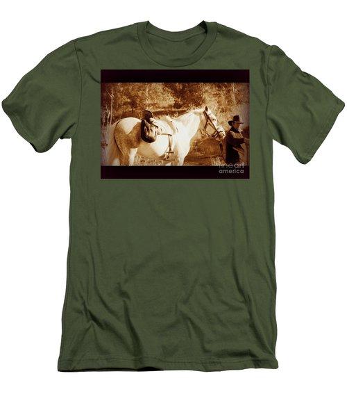 Old Spain Men's T-Shirt (Slim Fit) by Clare Bevan