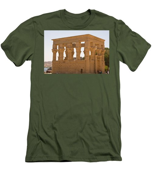 Old Structure 3 Men's T-Shirt (Athletic Fit)
