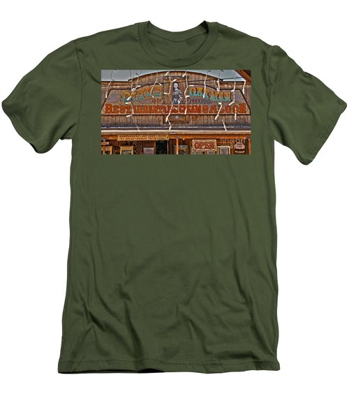 Old Town Saloon Men's T-Shirt (Athletic Fit)
