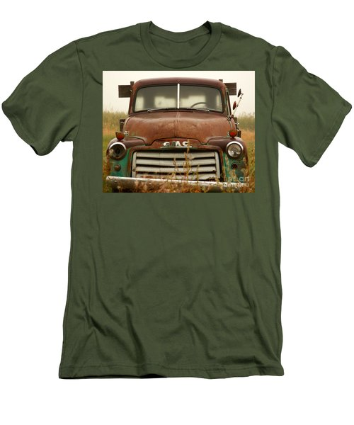 Old Truck Men's T-Shirt (Slim Fit) by Steven Reed
