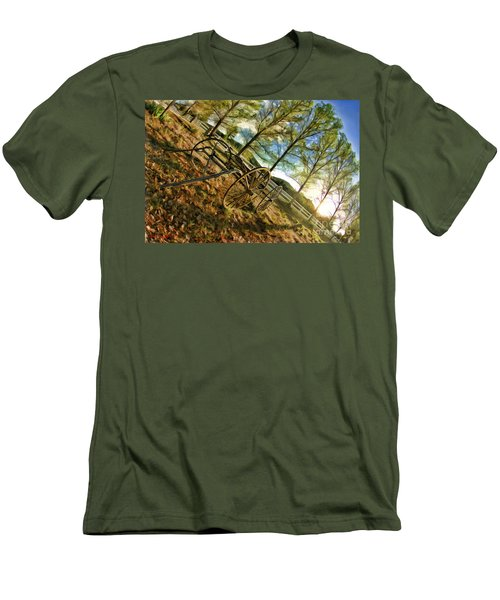 Old Wagon Men's T-Shirt (Athletic Fit)