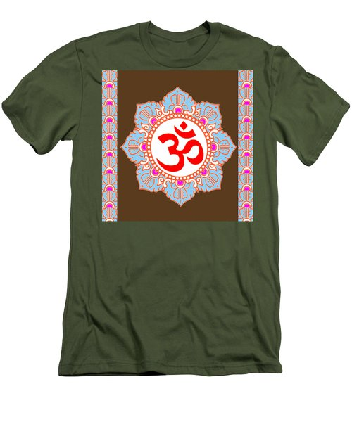 Men's T-Shirt (Slim Fit) featuring the photograph Om Mantra Ommantra by Navin Joshi