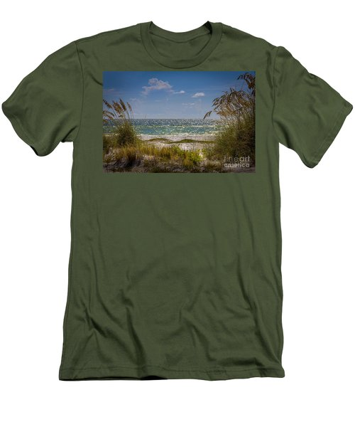On A Clear Day Men's T-Shirt (Slim Fit)
