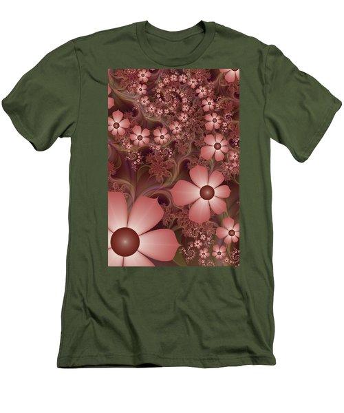 Men's T-Shirt (Slim Fit) featuring the digital art On A Summer Evening by Gabiw Art