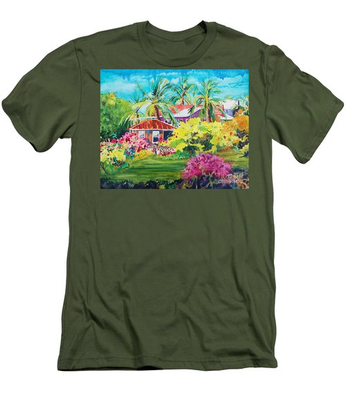 On The Big Island Men's T-Shirt (Athletic Fit)