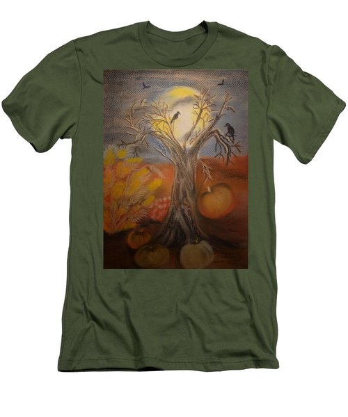 One Hallowed Eve Men's T-Shirt (Slim Fit) by Maria Urso