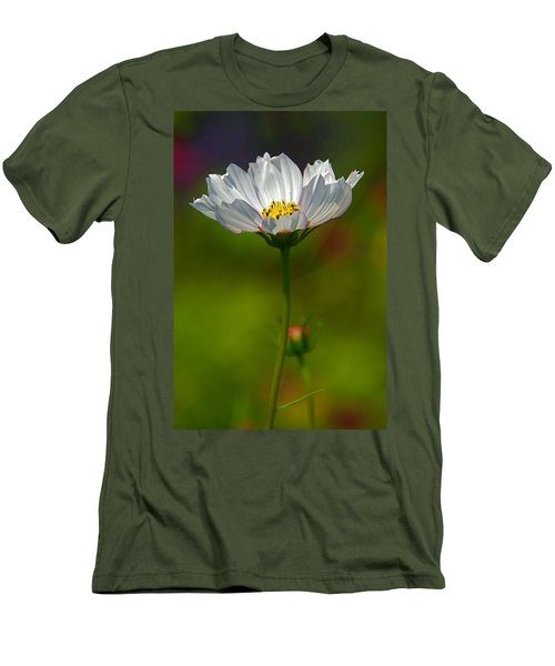 Men's T-Shirt (Slim Fit) featuring the photograph Open For All by Byron Varvarigos