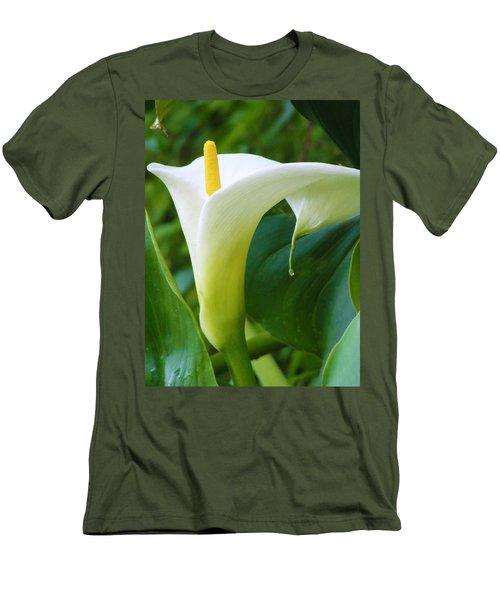 Open Your Heart Men's T-Shirt (Slim Fit) by Tiffany Erdman