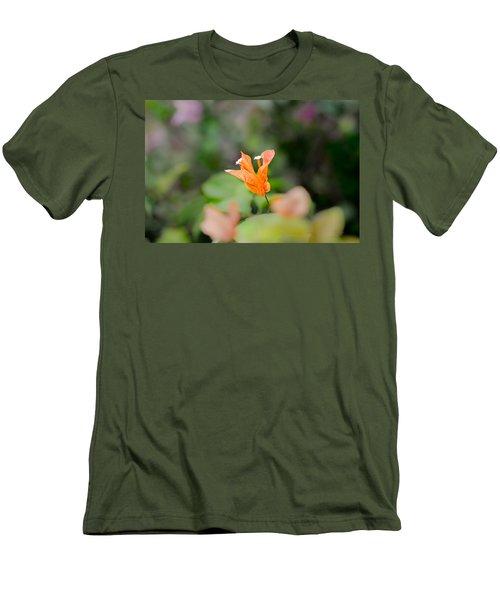 Orange Love Men's T-Shirt (Athletic Fit)