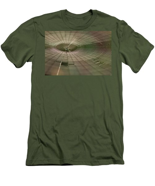 Men's T-Shirt (Slim Fit) featuring the photograph Orchard Orbweaver #1 by Paul Rebmann