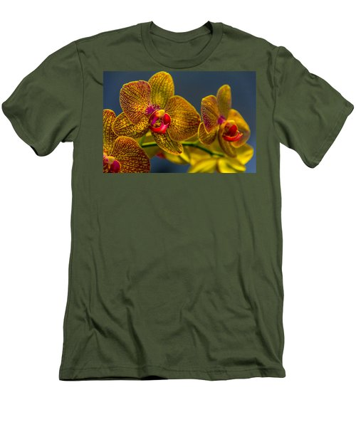 Orchid Color Men's T-Shirt (Athletic Fit)