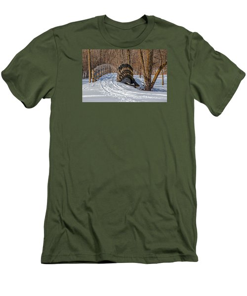 Over The River And Through The Woods Men's T-Shirt (Slim Fit) by Susan  McMenamin
