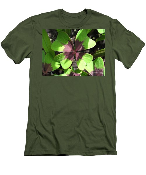 Oxalis Deppei Named Iron Cross Men's T-Shirt (Athletic Fit)