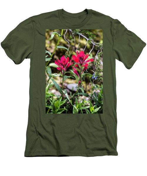 Paintbrush Men's T-Shirt (Slim Fit)