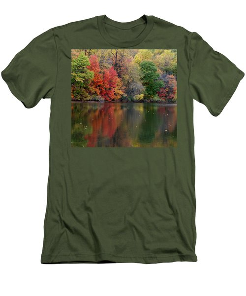 Men's T-Shirt (Slim Fit) featuring the photograph Painted Water by Richard Bryce and Family