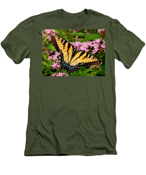 Painted Wings Men's T-Shirt (Slim Fit) by Rodney Lee Williams