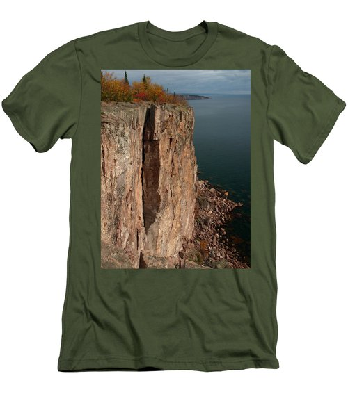 Men's T-Shirt (Slim Fit) featuring the photograph Palisade Depths by James Peterson