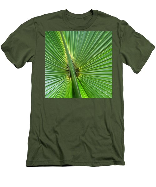 Men's T-Shirt (Slim Fit) featuring the photograph Palm Love by Roselynne Broussard