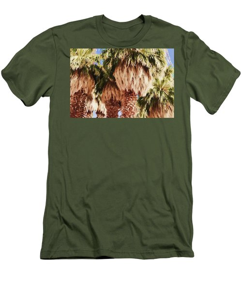 Palm Men's T-Shirt (Slim Fit) by Muhie Kanawati