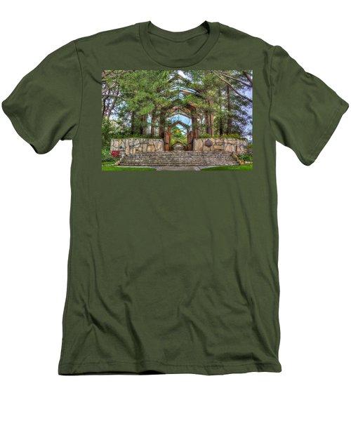 Palos Verdes Stone And Glass Men's T-Shirt (Athletic Fit)