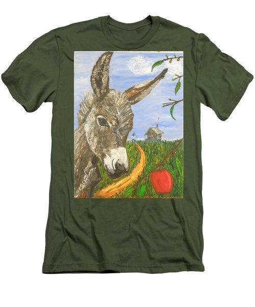 Papas Last Apple Men's T-Shirt (Athletic Fit)