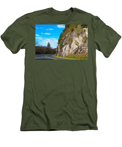 Park Road Men's T-Shirt (Slim Fit) by Melinda Fawver