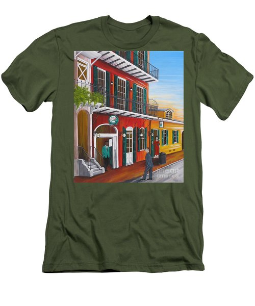 Pat O's Courtyard Entrance Men's T-Shirt (Athletic Fit)