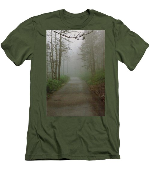 Path To Clingmans Dome Men's T-Shirt (Slim Fit) by Karin Thue