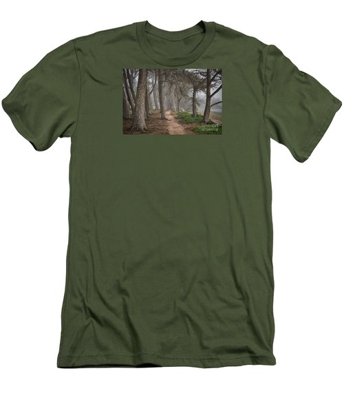 Pathway Men's T-Shirt (Slim Fit) by Alice Cahill