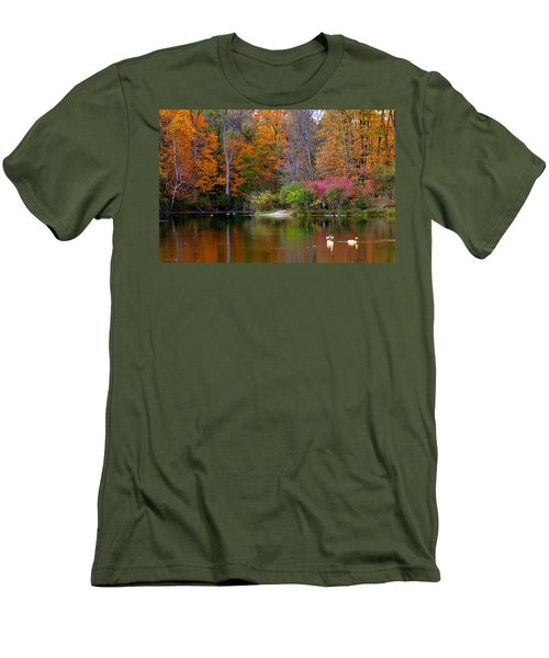Peaceful Lake Men's T-Shirt (Athletic Fit)