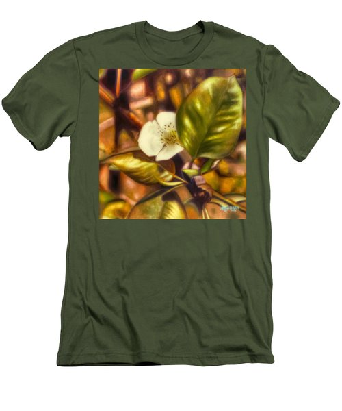 Pear Blossom Men's T-Shirt (Athletic Fit)