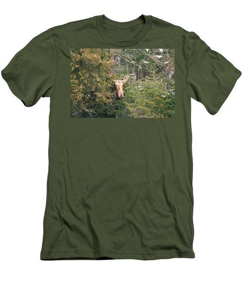 Peek-a-boo Men's T-Shirt (Athletic Fit)