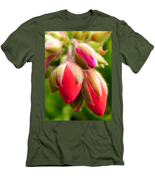 Men's T-Shirt (Slim Fit) featuring the photograph Pending Beauty by Deb Halloran