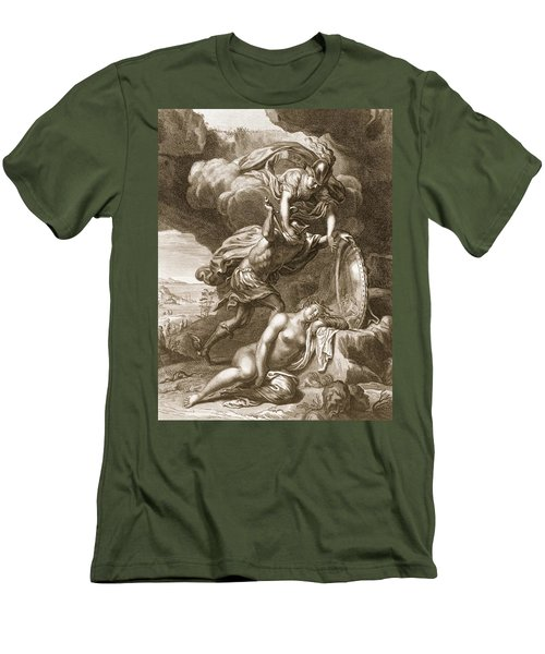 Perseus Cuts Off Medusas Head, 1731 Men's T-Shirt (Athletic Fit)