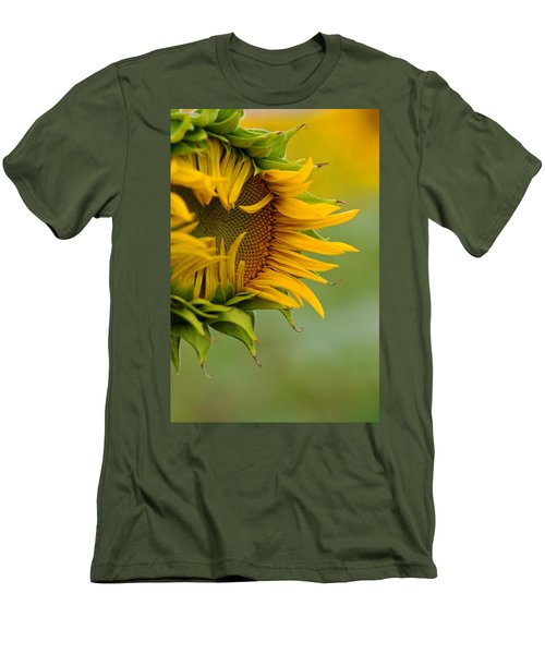 Men's T-Shirt (Slim Fit) featuring the photograph Petals by Ronda Kimbrow