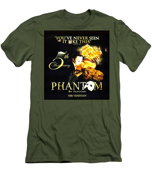 Phantom At The Venetian Men's T-Shirt (Athletic Fit)