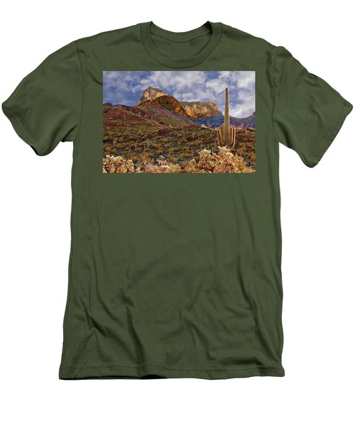 Picacho Peak Men's T-Shirt (Athletic Fit)