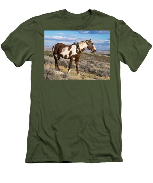 Picasso Of Sand Wash Basin Men's T-Shirt (Slim Fit)