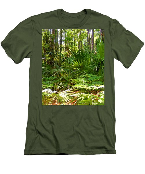 Pine And Palmetto Woods Filtered Men's T-Shirt (Athletic Fit)