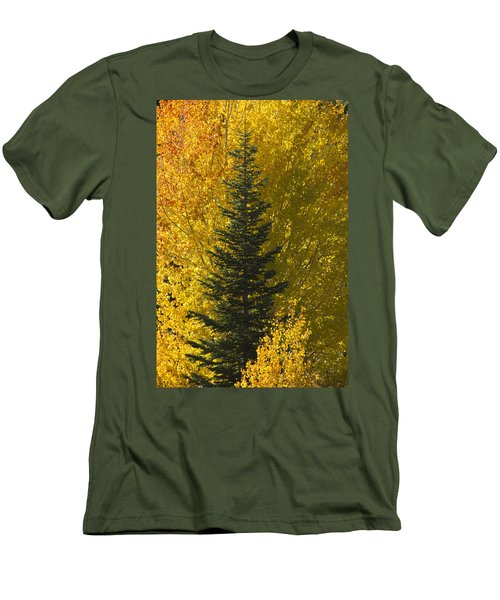 Pine In Aspens Men's T-Shirt (Athletic Fit)