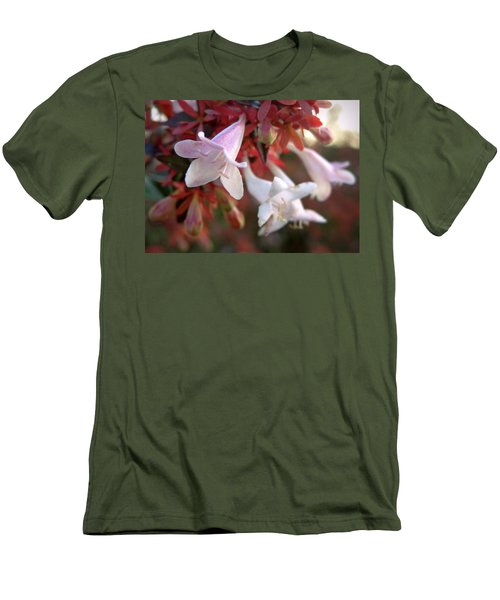 Men's T-Shirt (Slim Fit) featuring the photograph Pinks by Joseph Skompski