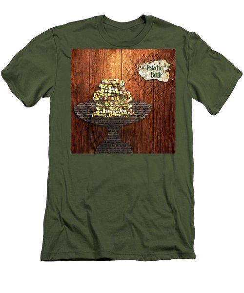 Pistachio Brittle Men's T-Shirt (Athletic Fit)