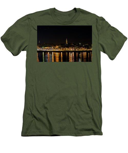 Port Lights Men's T-Shirt (Athletic Fit)