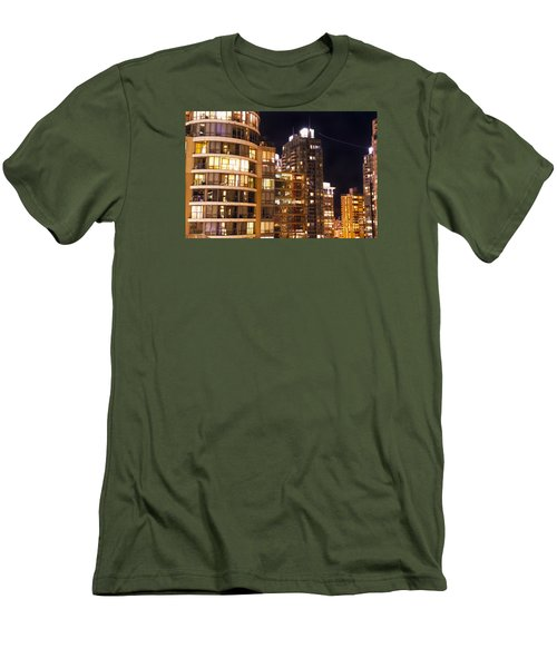 Men's T-Shirt (Slim Fit) featuring the photograph Posh Neighbors Dccxl by Amyn Nasser