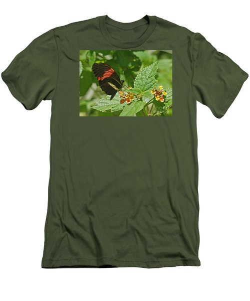 Postman Butterfly 1 Men's T-Shirt (Athletic Fit)