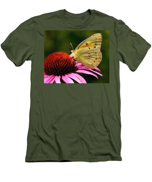 Pretty As A Butterfly Men's T-Shirt (Athletic Fit)