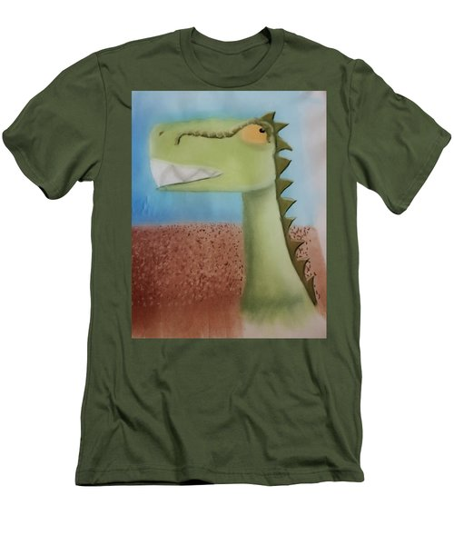 Dinoart Raptor Men's T-Shirt (Slim Fit)