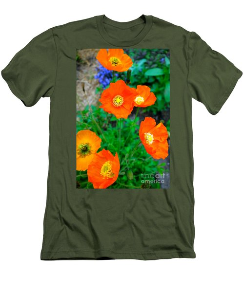 Pretty In Orange Men's T-Shirt (Athletic Fit)